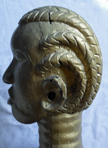 African Art Deco figure