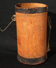 Turkana wood milk bucket