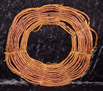 Rare Pokot wood bead necklace