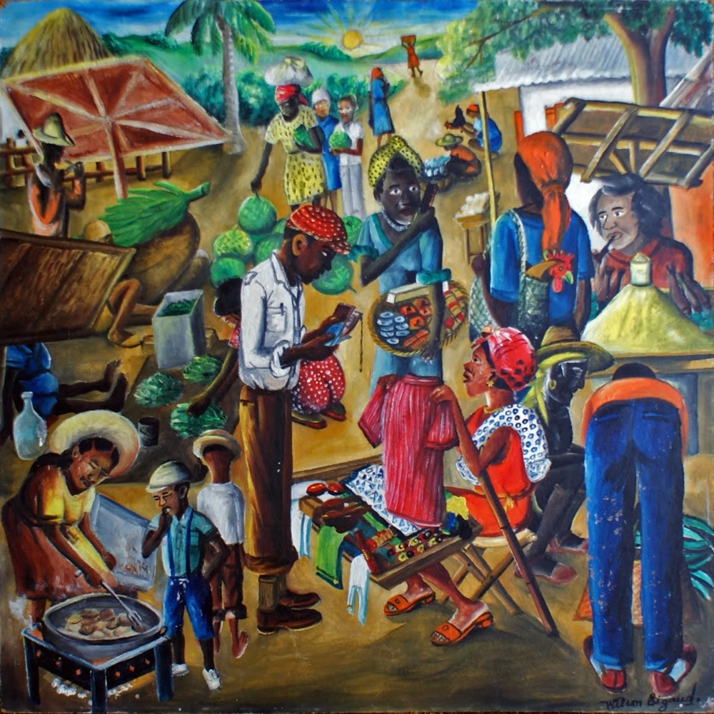 African fishing paintings