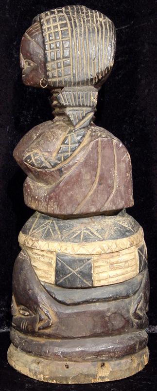 Temne Jolay Society Helmet Mask Sierra Leone J1089