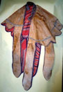 Lion skin cape for Emperor Menelik, II of Ethiopia, not for sale