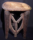 Nupe ceremonial stool